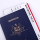 Australian Passport with International boarding pass